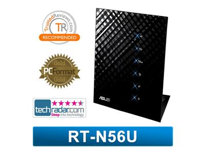 Asus RT-N56u Black Diamond Dual-Band Wireless N Gigabit Router
