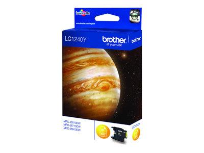 Brother LC1240Y - Print cartridge - 1 x yellow - 600 pages
