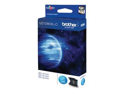 Brother LC1280XLC - Print cartridge - 1 x cyan - 1200 pages