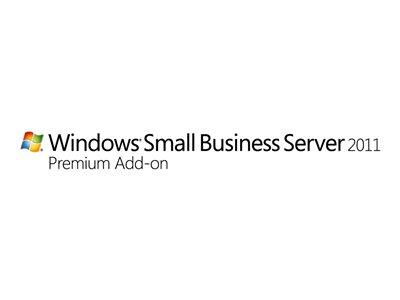 HP Microsoft Windows Small Business Server 2011 Premium Add-on - Licence - 5 User CALs - Multilingual