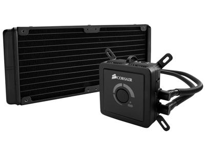 Corsair Memory Cooling Hydro Series H100 High-Performance CPU Cooler