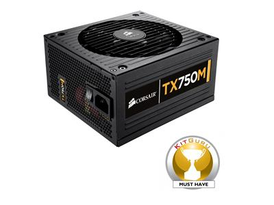 Corsair 750W Enthusiast Series TX750 Modular Power Supply