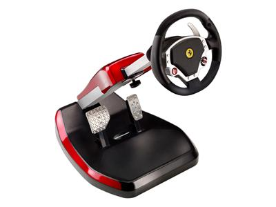 Thrustmaster Ferrari Wireless GT Cockpit 430 Scuderia Edition - Wheel and pedals - Wireless