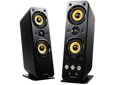 Creative GigaWorks T40 Series II - PC multimedia speakers - 32 Watt (Total) - gloss black