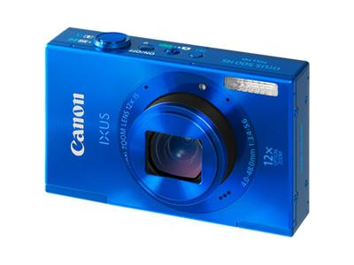 Canon IXUS 500 HS Digital Camera - Blue