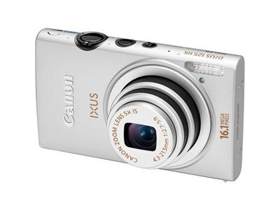 Canon IXUS 125 HS Digital Camera - Silver