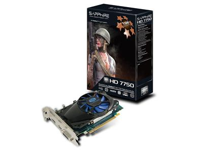 Sapphire Technology ATI Radeon 7750 HD 800MHz 1GB PCI-Express 3.0 HDMI