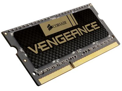 Corsair 4GB (1x4GB) DDR3 1600Mhz CL9 Vengeance SODIMM  Performance Notebook Memory Module