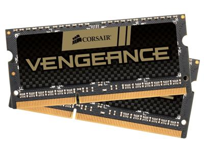Corsair 16GB (2x8GB) DDR3 1600Mhz CL10 Vengeance SODIMM  Performance Notebook Memory Kit