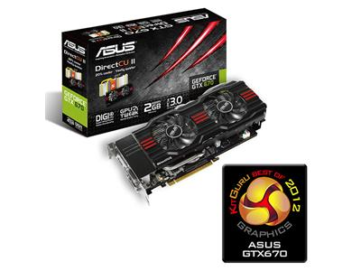 Asus GeForce GTX 670 915MHz 2GB PCI-Express 3.0 HDMI