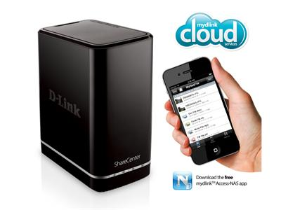D-Link ShareCenter 2-Bay Cloud Network Storage Enclosure