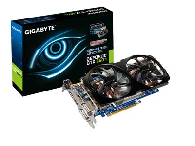 Gigabyte GeForce GTX 660 Ti 1032MHz 2GB PCI-Express 3.0 HDMI OC