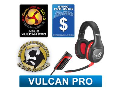 Asus Vulcan Pro Republic of Gamers - Gaming Headset