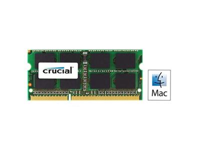Crucial 4GB 1333MHz DDR3 PC3-10600 SODIMM 204pin CL9