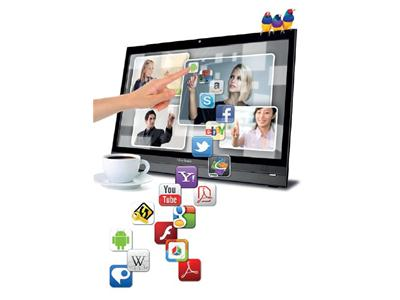 "ViewSonic 22"" Android 4.0 All-in-one with Full-HD Smart Display"