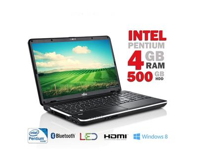 "Fujitsu AH512 Intel Pentium B960 4GB 500GB HDMI Window8 15.6"" Laptop"