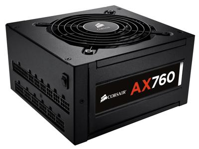 Corsair 760W AX760 80PLUS Platinum High Performance PSU