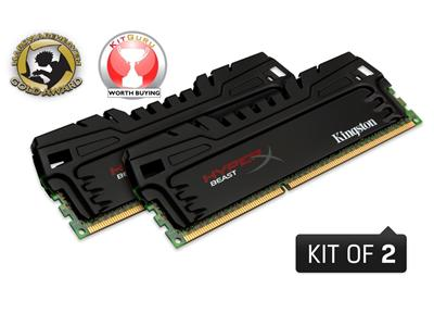 Kingston 8GB (2 x 4GB) HyperX Beast DDR3 1600MHz DIMM CL9