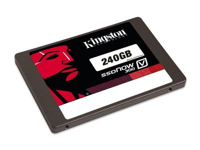 "Kingston 240GB SSDNow V300 SATA3 2.5"" 7MM solid state drive"