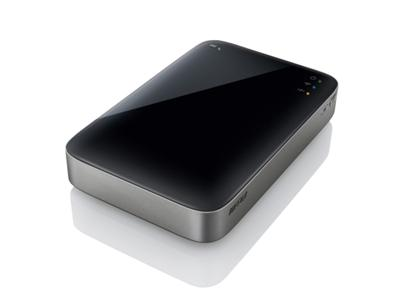 Buffalo 500GB MiniStation Air USB 3.0 Mobile Wireless Storage