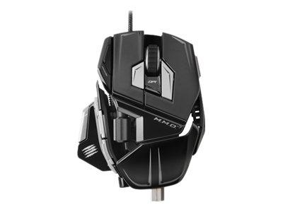 Mad Catz M.M.O 7 Gaming Mouse - Gloss Black