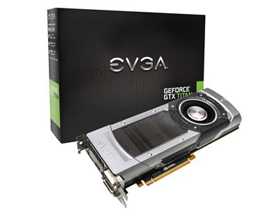 EVGA GeForce GTX TITAN 6GB PCI-Express 3.0 HDMI