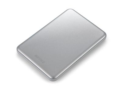 Buffalo 500GB MiniStation Slim (8.8mm) USB 3.0 Portable HDD Silver