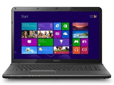 "Sony VAIO E-Series  SVE1713Z1EB Core i7-3632QM 8GB 1TB Blu-ray Writer 17.3"" Widescreen Windows 8"