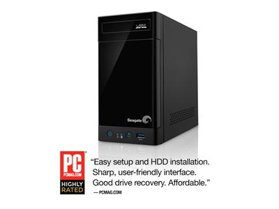 Seagate 8TB (2 x 4TB) 2-Bay Business Storage NAS