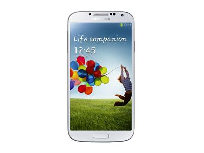 "Samsung GALAXY S4 - Android - 4G - 16GB - 5"" Full HD Super AMOLED - white"