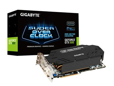 Gigabyte GeForce GTX 680 1202MHz 2GB PCI-Express 3.0 HDMI SuperOC
