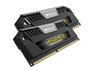Corsair 8GB (2 x 4GB) Vengeance Pro Black DDR3 1600MHz CL9