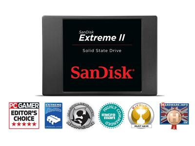 "Sandisk 480GB Extreme II SATA 6GB/s 2.5"" 7mm Solid State Drive"