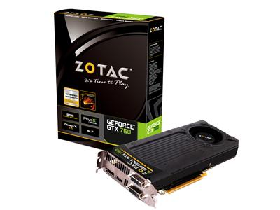 Zotac GeForce GTX 760 993MHz 2GB PCI-Express 3.0 HDMI