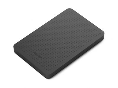 "Buffalo 1TB MiniStation USB 3.0 2.5"" Portable Hard Drive Black"