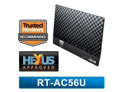 Asus RT-AC56U  Wireless-AC1200 Dual-Band USB3.0 Gigabit Router