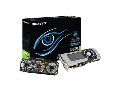 Gigabyte GeForce GTX TITAN 980MHz 6GB PCI-Express 3.0 HDMI OC Windforce 3X 450W
