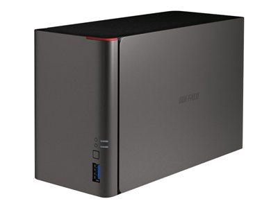 Buffalo 6TB (2 x 3TB WD Red) LinkStation 421DE 2-Bay NAS