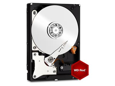 "WD 4TB Red SATA 6Gb/s 64MB 3.5"" Hard Drive"