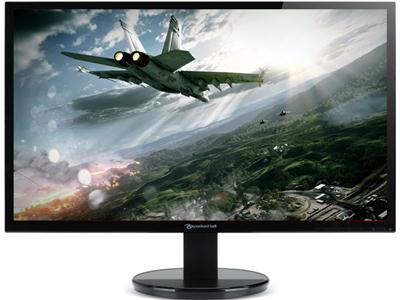 "Packard Bell Viseo 243D 24"" Full HD LED Monitor with DVI & VGA - Black"