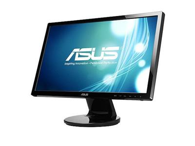 "Asus VE228TR 21.5"" LED 1920x1080 FullHD VGA DVI Speakers Black 3 Years Warranty"