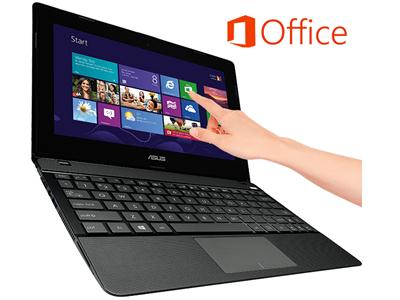 "Asus X102BA  Vivobook 10.1"" Touch AMD A4 4GB 500GB HDMI USB3 Office Win8"