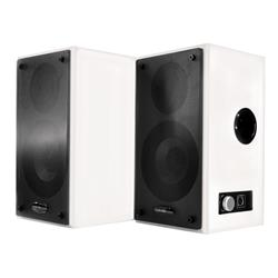 Sahara Wall Mounted Active Speakers with UK & Euro detachable Fig8 No Remote Included