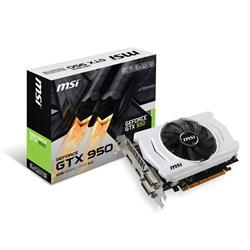 MSI GeForce GTX 950 OC 2GB GDDR5 PCIe3.0 DX12 Graphics Card