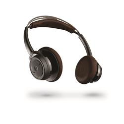 Plantronics Backbeat Sense Stereo Wireless Headphones Black & Brown
