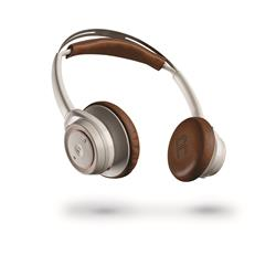 Plantronics BackBeat Sense Stereo Wireless Headphones White & Tan
